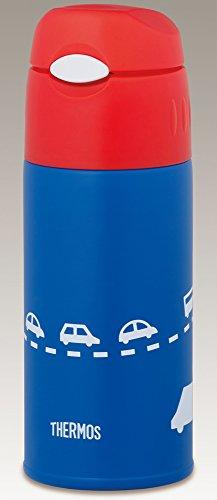 サーモス 水筒 真空断熱 ストローボトル  0.4L スカイブルー FHL-400F SKY 保冷