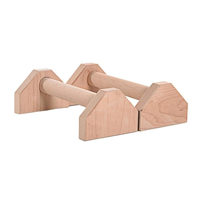 prokthストレッチスタンド木製シングルダブルバーCalisthenics逆立ちPersonalisedバー木製push-upsダブルロッド