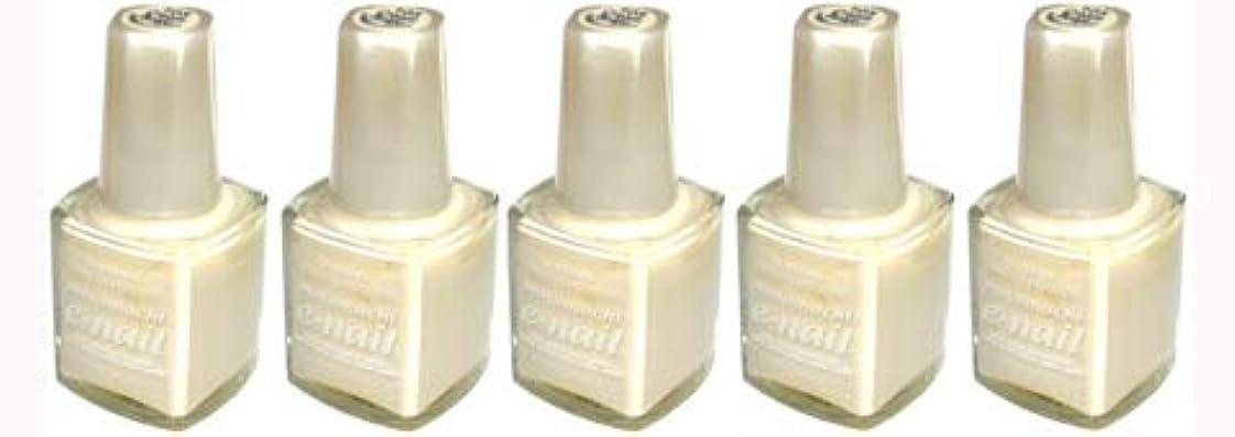e-nail ネイルラッカー #105 Cream Beige【5本???】
