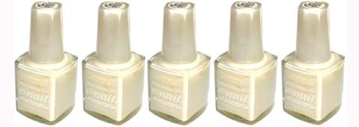 ポルティコによっておいしいe-nail ネイルラッカー #105 Cream Beige【5本???】