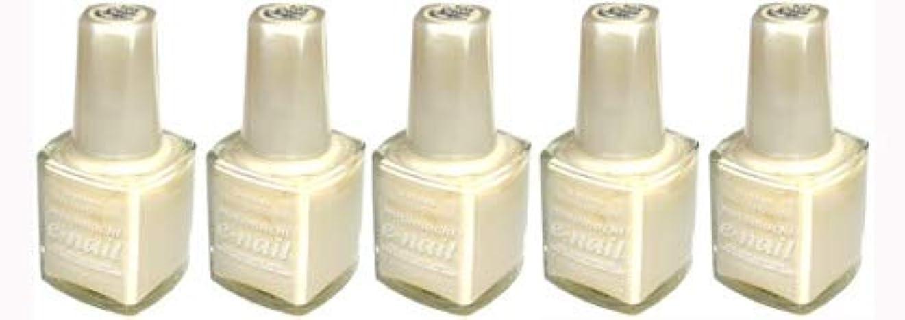 拡大するランチやりすぎe-nail ネイルラッカー #105 Cream Beige【5本???】