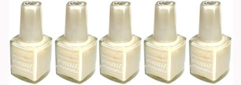 圧倒するセンチメンタル伝統的e-nail ネイルラッカー #105 Cream Beige【5本???】