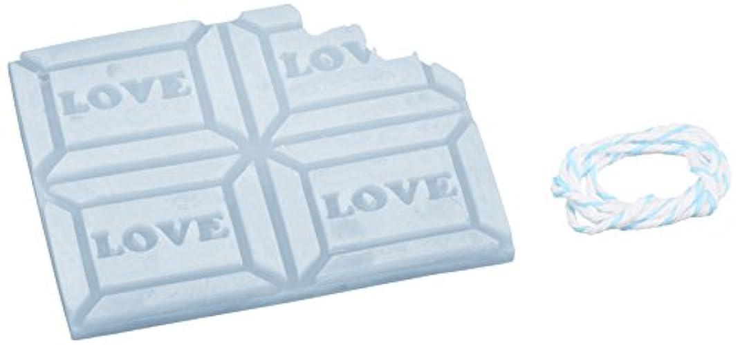 グレードテレックス洋服GRASSE TOKYO AROMATICWAXチャーム「板チョコ(LOVE)」(BL) ローズマリー アロマティックワックス グラーストウキョウ