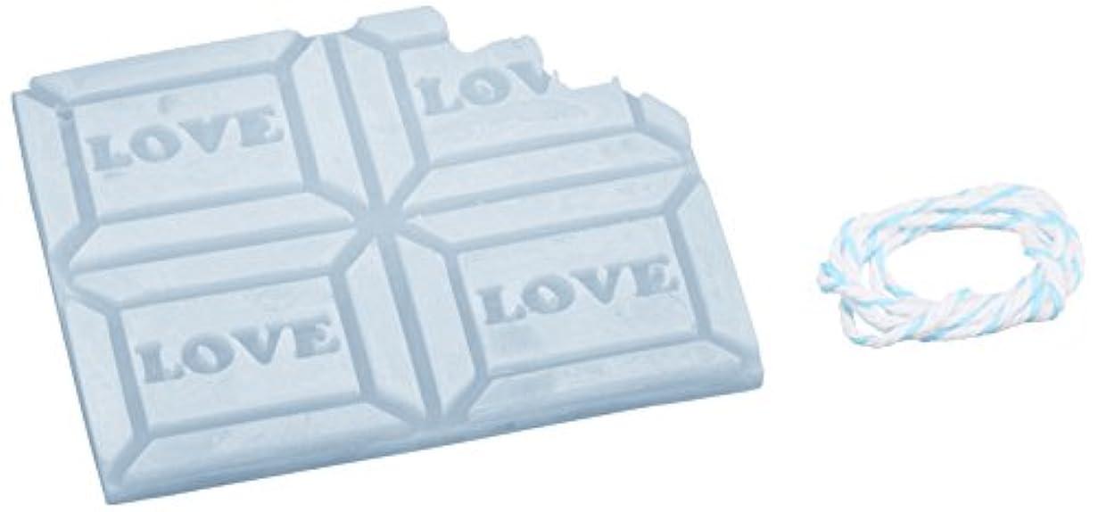 判決チョークブロックGRASSE TOKYO AROMATICWAXチャーム「板チョコ(LOVE)」(BL) ローズマリー アロマティックワックス グラーストウキョウ