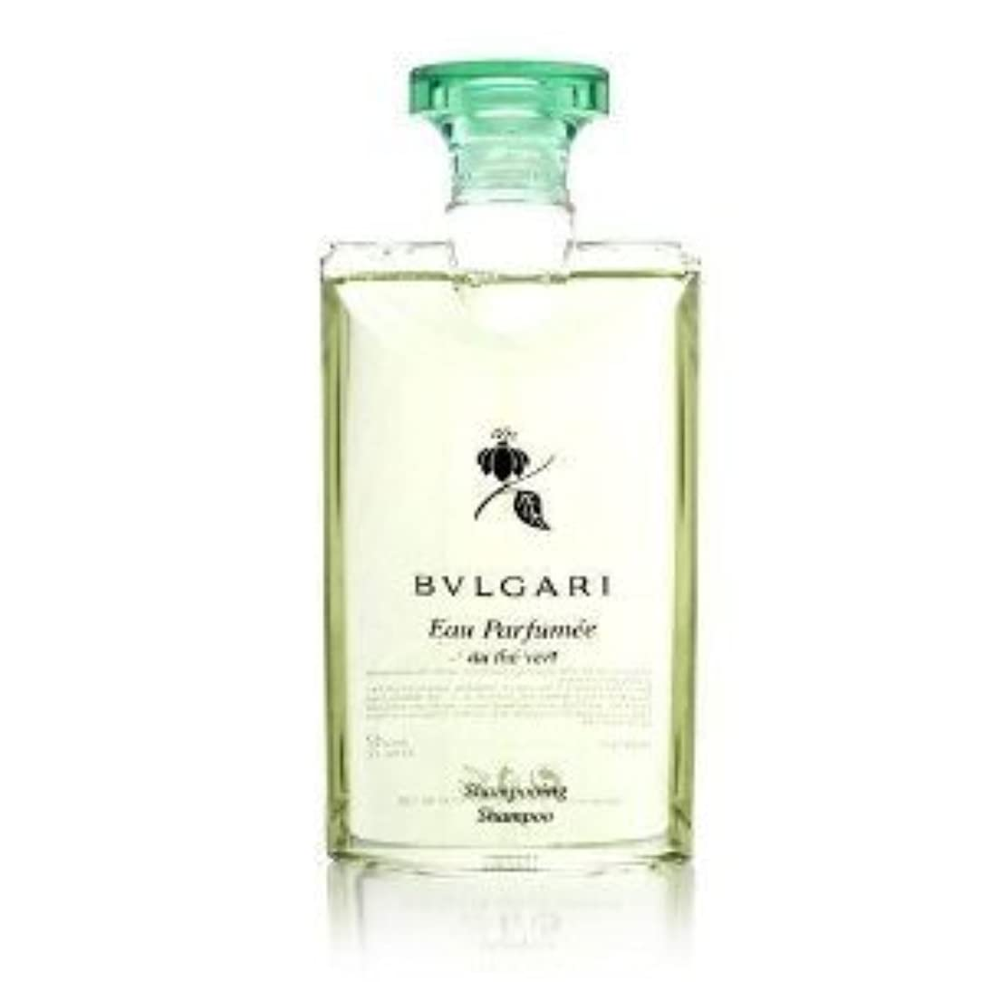 角度従事したメタリックBvlgari Eau Parfumee au the vert (ブルガリ オー パフュ-メ オウ ザ バート / グリーン ティー) 2.5 oz (75ml) シャンプー