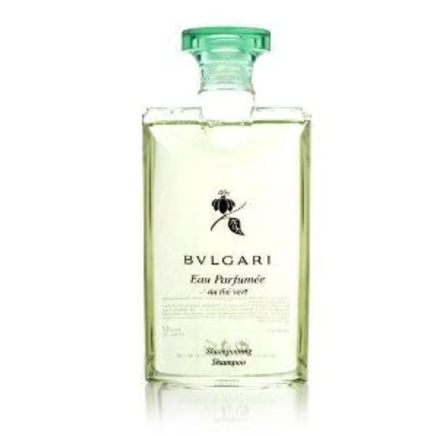 トランスペアレント便益慎重Bvlgari Eau Parfumee au the vert (ブルガリ オー パフュ-メ オウ ザ バート / グリーン ティー) 2.5 oz (75ml) シャンプー