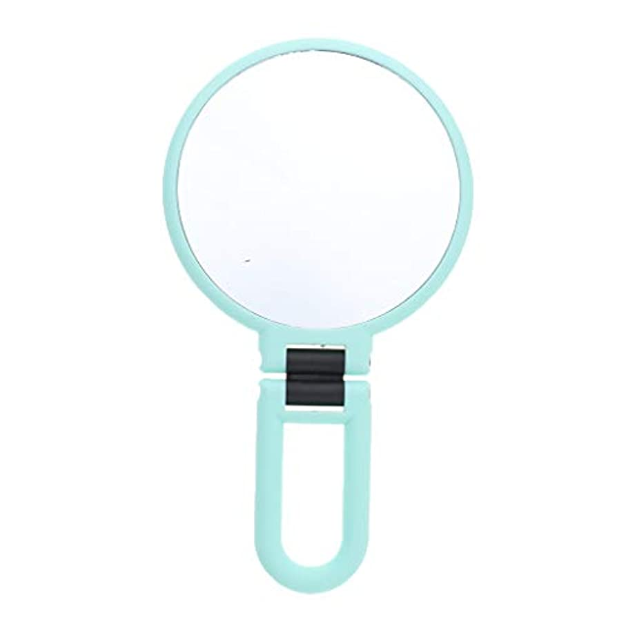 右ラック害B Blesiya 化粧鏡 拡大鏡 ミラー ハンドヘルド化粧鏡 両面ミラー 両面鏡 3サイズ - 2倍の拡大鏡
