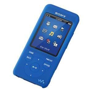 SONY NW-S780/NW-E080シリーズ専用 シリコンケース ソリッドブルー CKM-NWS780/LI
