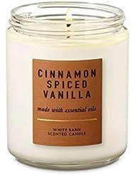 【Bath&Body Works/バス&ボディワークス】 アロマキャンドル シナモンスパイスバニラ 1-Wick Scented Candle Cinnamon Spiced Vanilla 7oz/198g [並行輸入品]