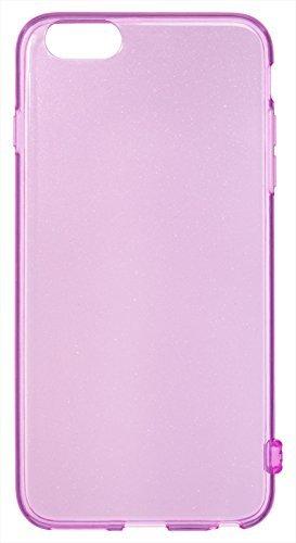 【正規代理店品】 SoftBank SELECTION ジュエルカラーケース クリアラメ for iPhone 6 Plus / パープル SB-IA11-SCGT/PP