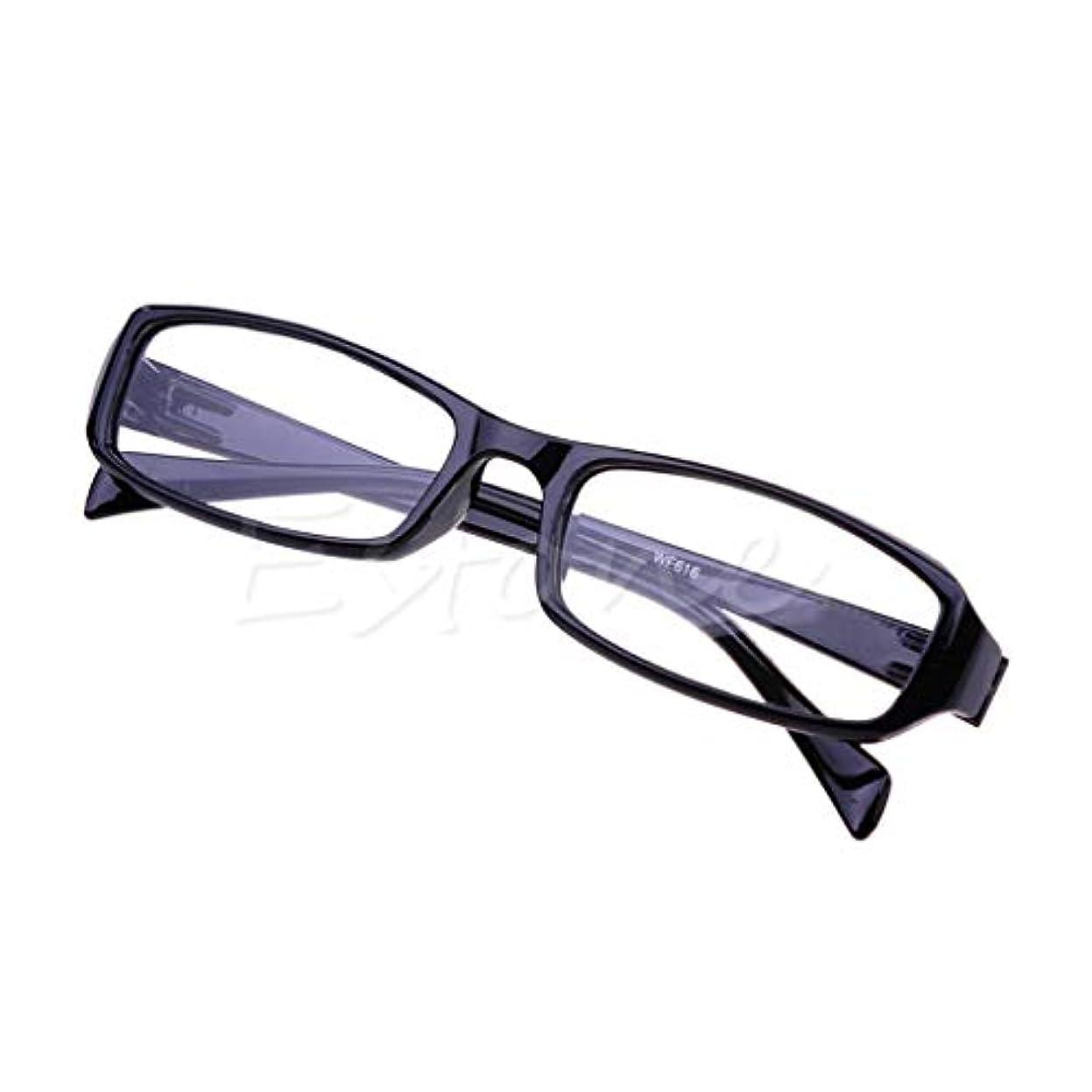 掘るなだめる食物jackyee 616ダブルトゥースレジンHdメガネ老眼鏡(黒)350度レジン老視メガネリーダー老眼鏡+2.00 3.00 3.50 4.00視度