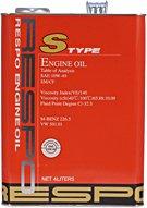 RESPO(レスポ) S TYPE 10W-40/10W40 SAE:10W-40/10W40 API:SM /CF 化学合成油エンジンオイル 弾粘性オイル 1L缶(1リットル缶) 12本セット