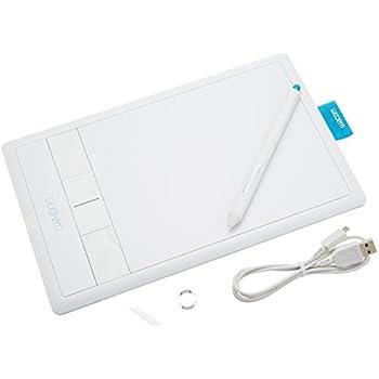 Wacom ペンタブレット Sサイズ ホワイト イラスタMini&コミスタMini付属 Bambooコミック CTH-470/W2