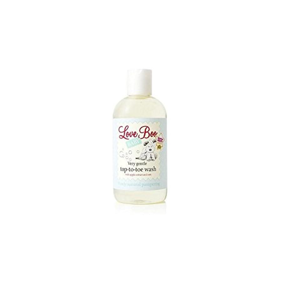 テナント宇宙船妥協Love Boo Very Gentle Top-To-Toe Wash (250ml) (Pack of 6) - 愛のブーイング非常に穏やかなトップからつま先まで洗浄(250ミリリットル) x6 [並行輸入品]