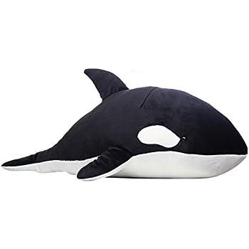 Bidason(ビダソン) ぬいぐるみ シャチ 抱き枕 鯨 だき枕 ホビー 腰枕 クッショ し 寝 おもちゃ アニマル ホエール 抱きまくら