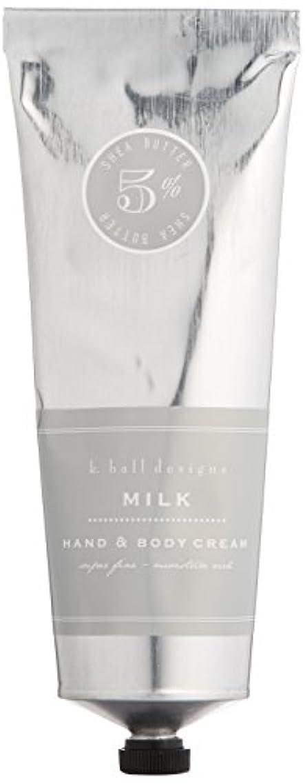 どれでもルーキー魅力的であることへのアピールk.hall designs(ケイホール デザインズ) ハンド&ボディクリーム ミルク