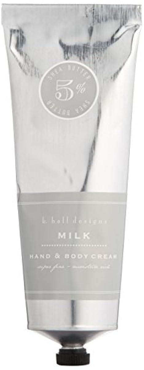 セッティングインペリアル批判的k.hall designs(ケイホール デザインズ) ハンド&ボディクリーム ミルク