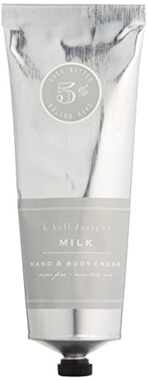 ピジン定期的な市民k.hall designs(ケイホール デザインズ) ハンド&ボディクリーム ミルク