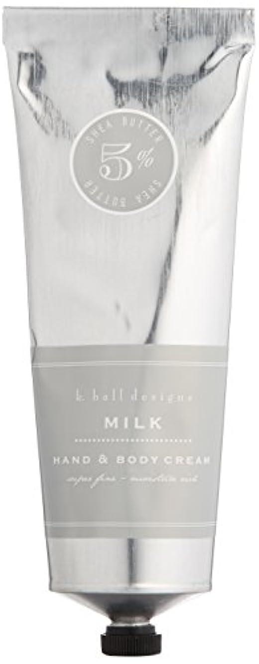 独立葡萄サスペンションk.hall designs(ケイホール デザインズ) ハンド&ボディクリーム ミルク