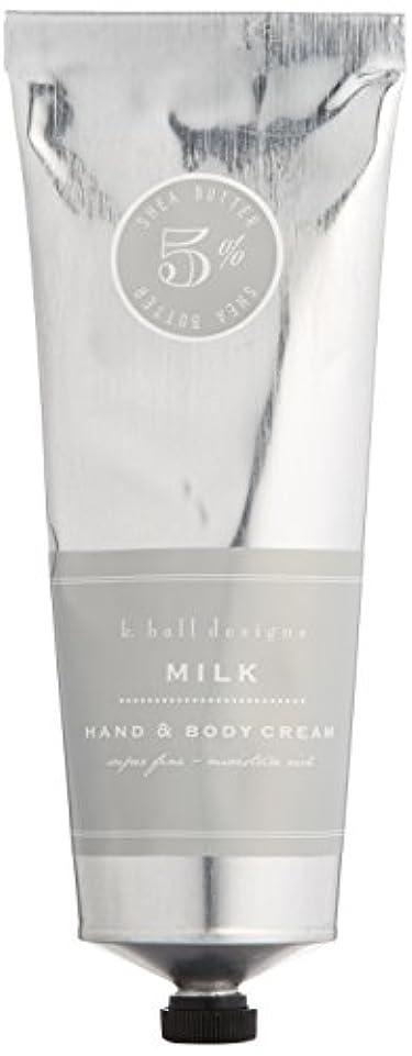滴下ボンド噴水k.hall designs(ケイホール デザインズ) ハンド&ボディクリーム ミルク