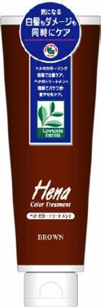 露出度の高いストリップ蒸発三宝商事 テンスター ヘナ カラートリートメント ブラウン 250g×48点セット  無香料 髪を染めながらトリートメントする白髪染め