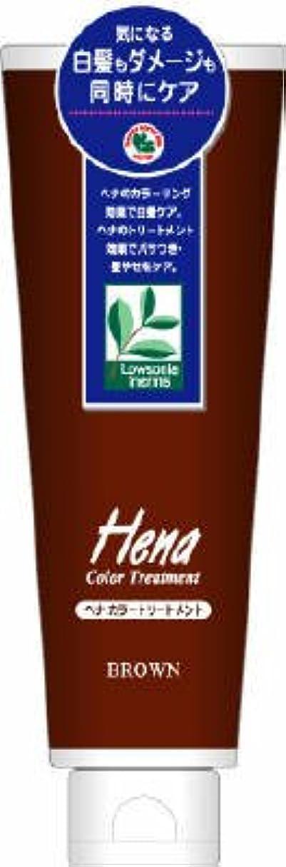 ピストン千種類三宝商事 テンスター ヘナ カラートリートメント ブラウン 250g×48点セット  無香料 髪を染めながらトリートメントする白髪染め