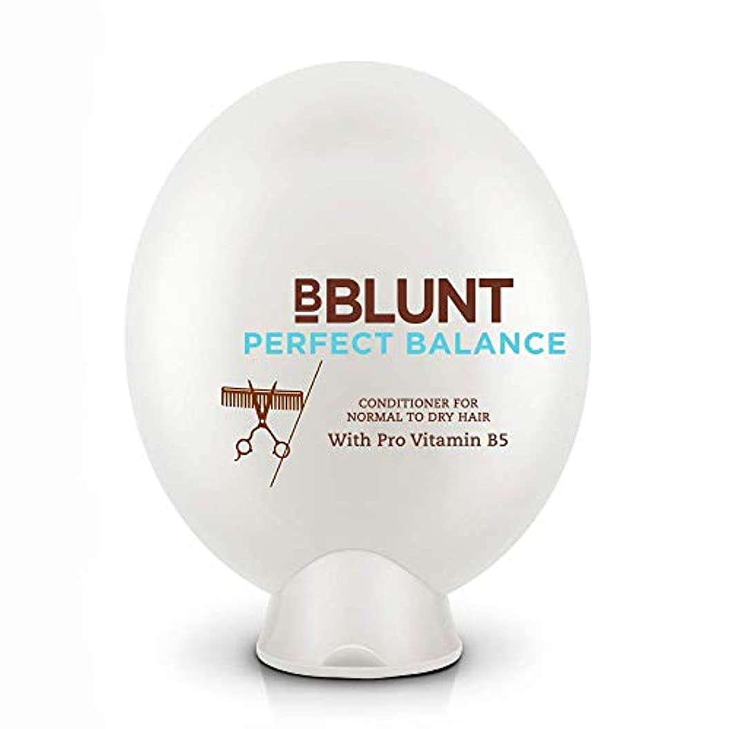 マントル台風製油所BBLUNT Perfect Balance Conditioner for Normal To Dry Hair, 200g (Provitamin B5)