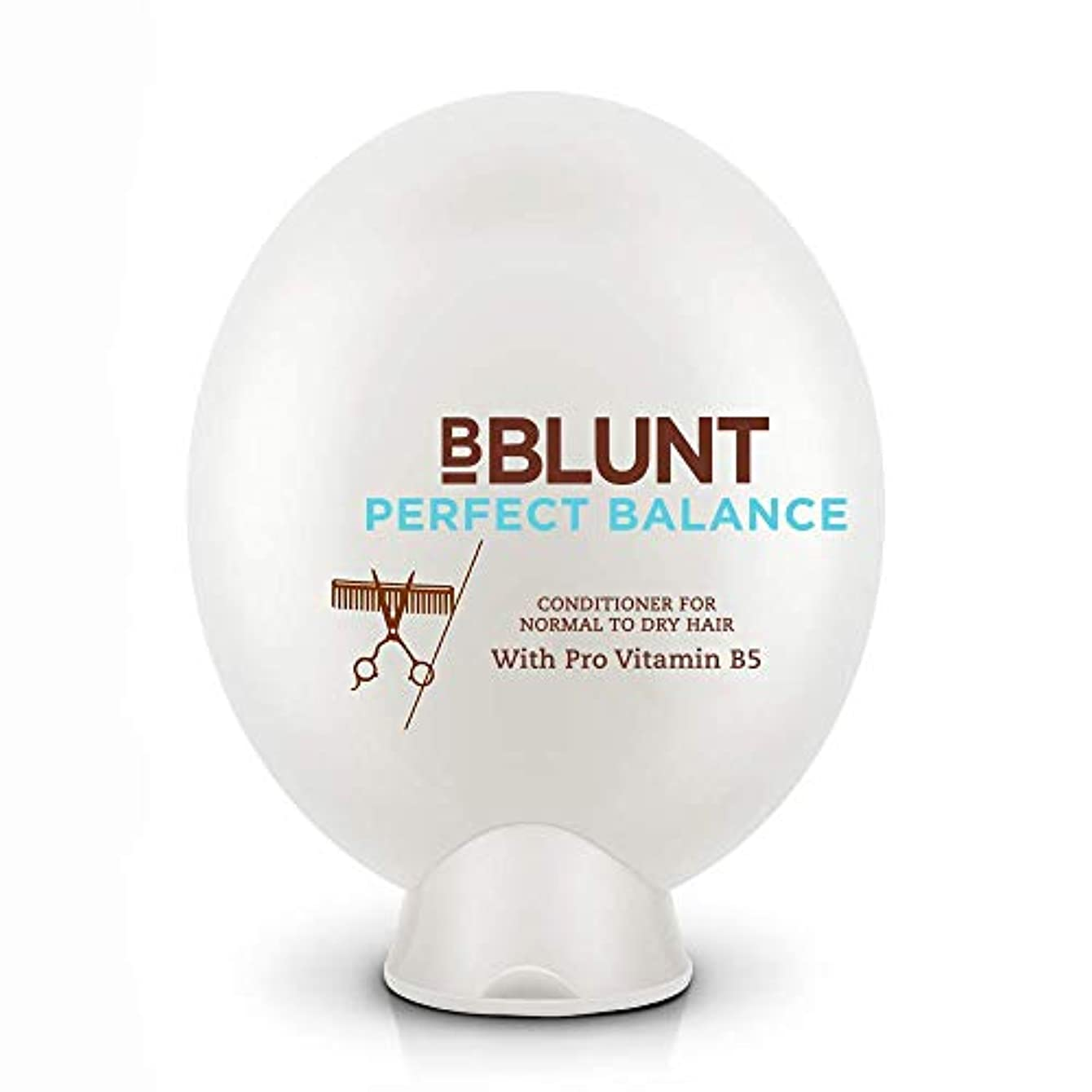 ポータブル恥ボルトBBLUNT Perfect Balance Conditioner for Normal To Dry Hair, 200g (Provitamin B5)