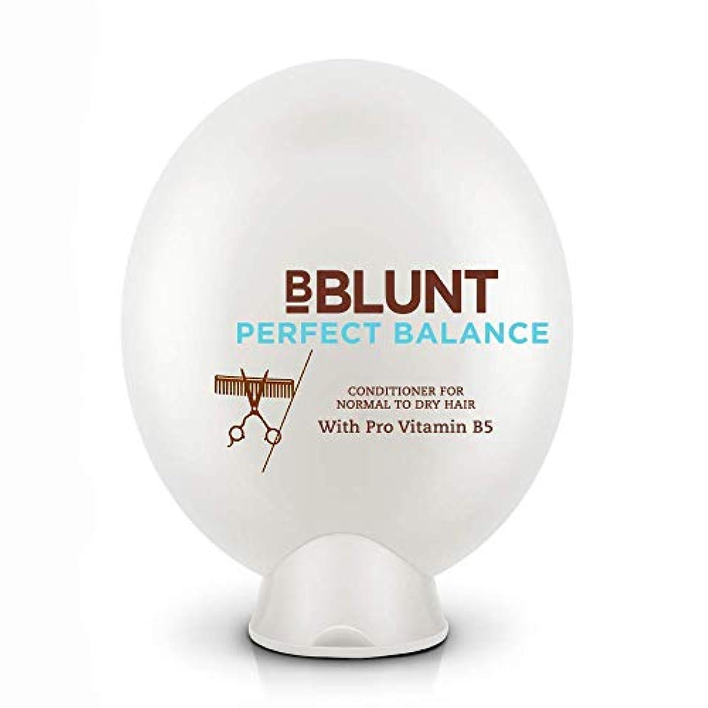 不平を言う刃状況BBLUNT Perfect Balance Conditioner for Normal To Dry Hair, 200g (Provitamin B5)