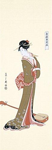 浮世絵手拭 芸者 60-7