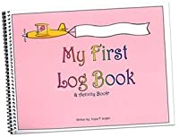 MY FIRST LOG BOOK & ACTIVITY BOOK For Girls (ピンク)