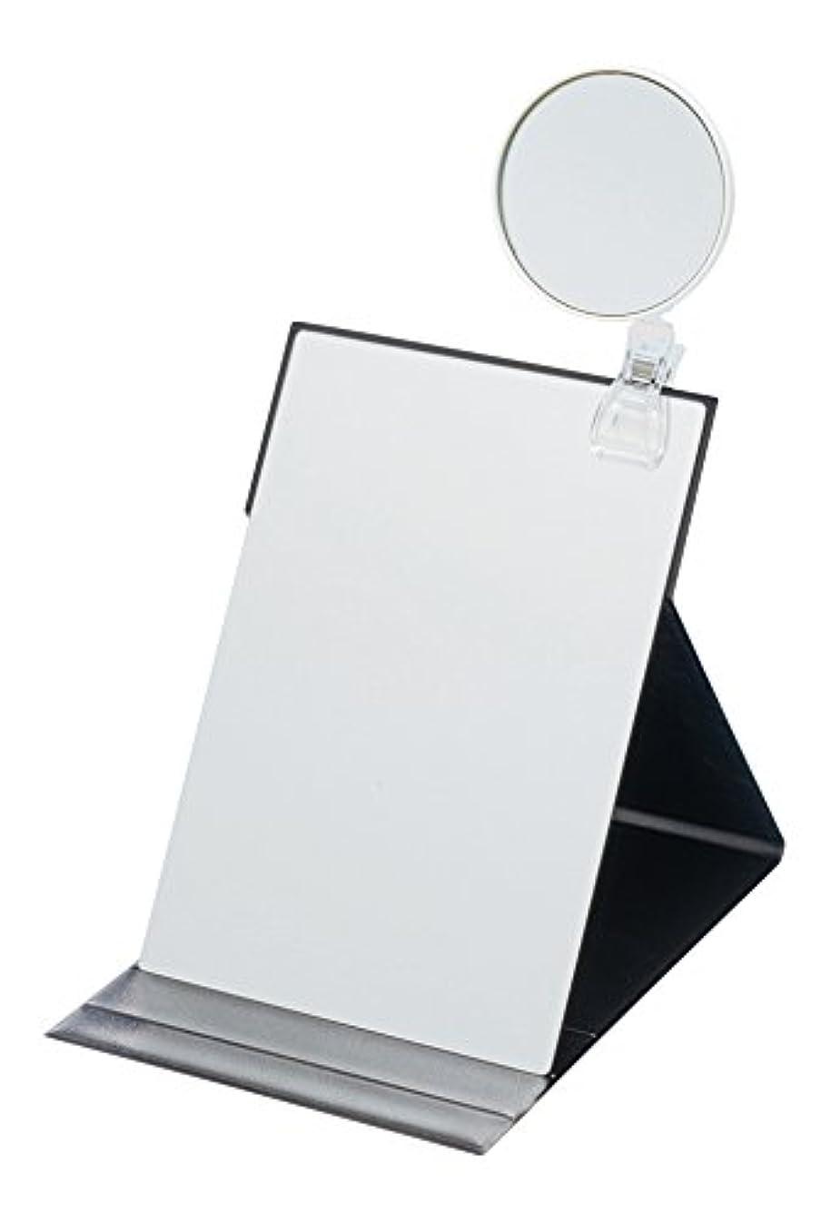 非難朝サスペンドナピュアミラー 5倍拡大鏡付きプロモデル折立ナピュアミラーLL HP-52×5