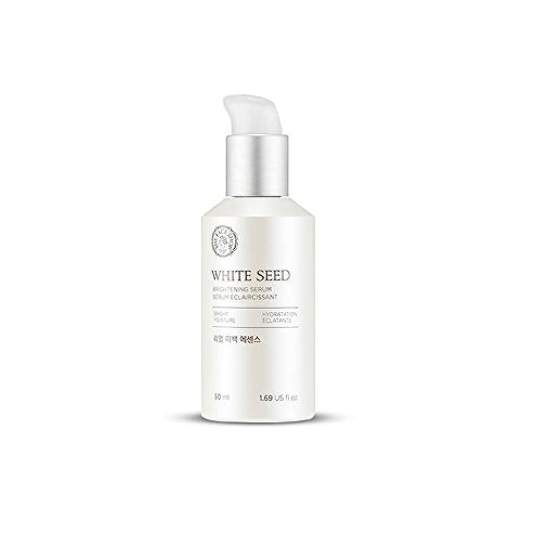 チョーク何鎖The Face Shop White Seed Real Whitening Essence / Brightening Serum 50ml [並行輸入品]