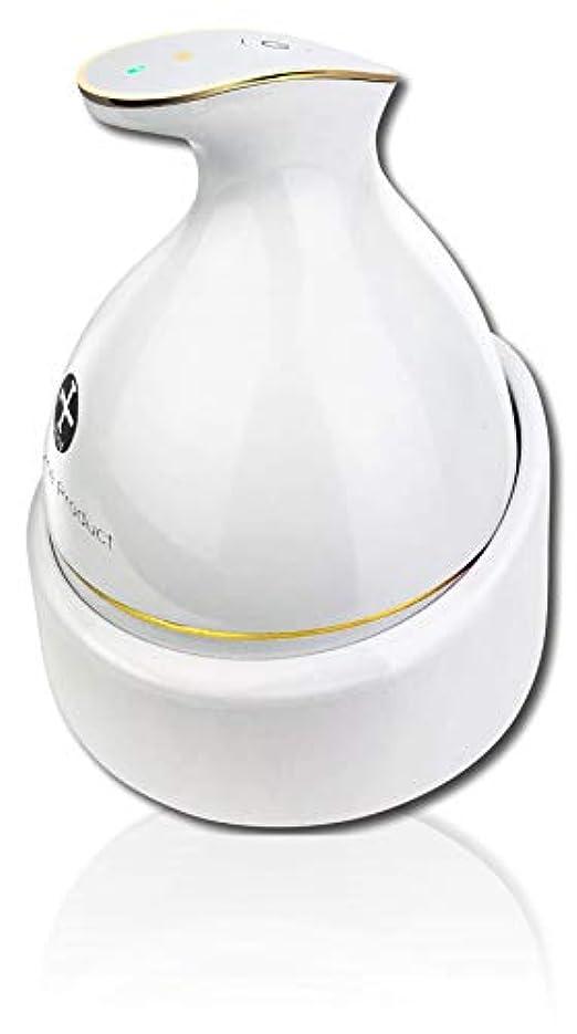 想像力豊かな面マングルKAS-1 頭皮マッサージ ヘッドスパ 頭皮マッサージ器 ヘッドマッサージ 頭皮マッサージャー ヘッドマッサージャー 防水 ブラシ 電動ブラシ 育毛 頭皮ケア 電動 ホワイト WorldLI Home Product
