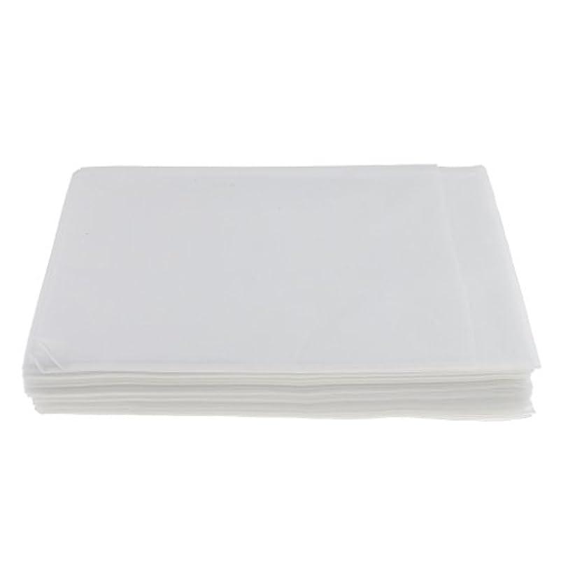 構造的演じる大混乱Baosity 10枚入り 使い捨て 美容室/マッサージ/サロン/ホテル ベッドパッド 無織PP 衛生シート 全3色選べ - 白