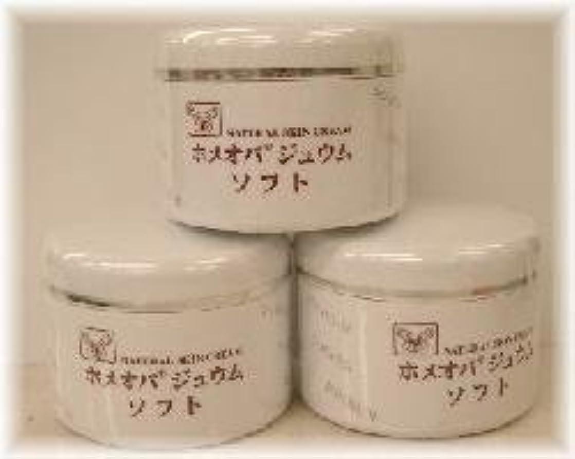 凶暴な後公平ホメオパジュウム スキンケア商品3点¥10500クリームソフトx3個
