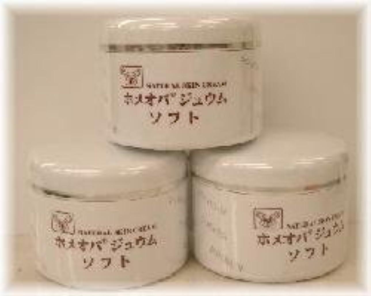 外国人バッチニックネームホメオパジュウム スキンケア商品3点¥10500クリームソフトx3個