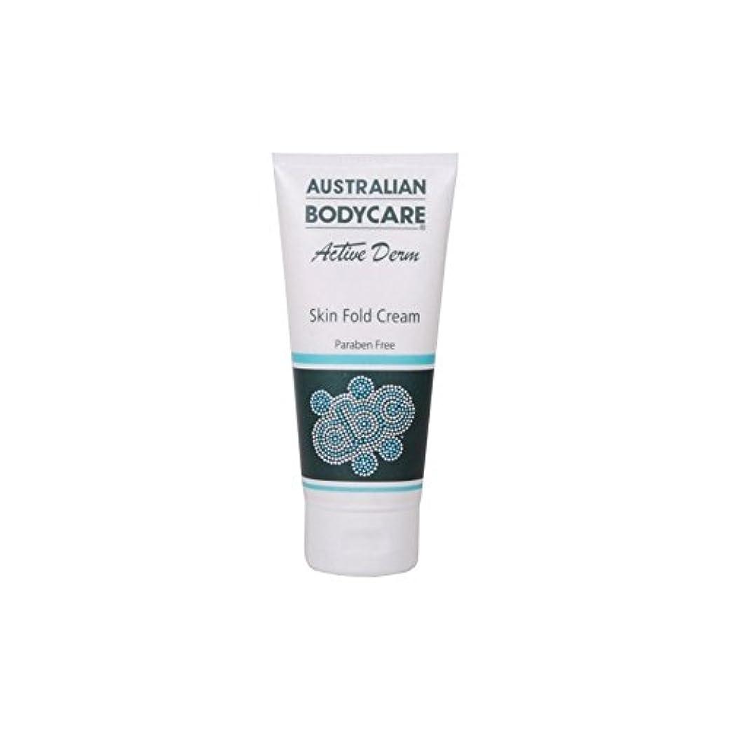 気づくなる狭い魅力的オーストラリアのボディケアアクティブダーム皮膚のひだクリーム(100ミリリットル) x2 - Australian Bodycare Active Derm Skin Fold Cream (100ml) (Pack of...