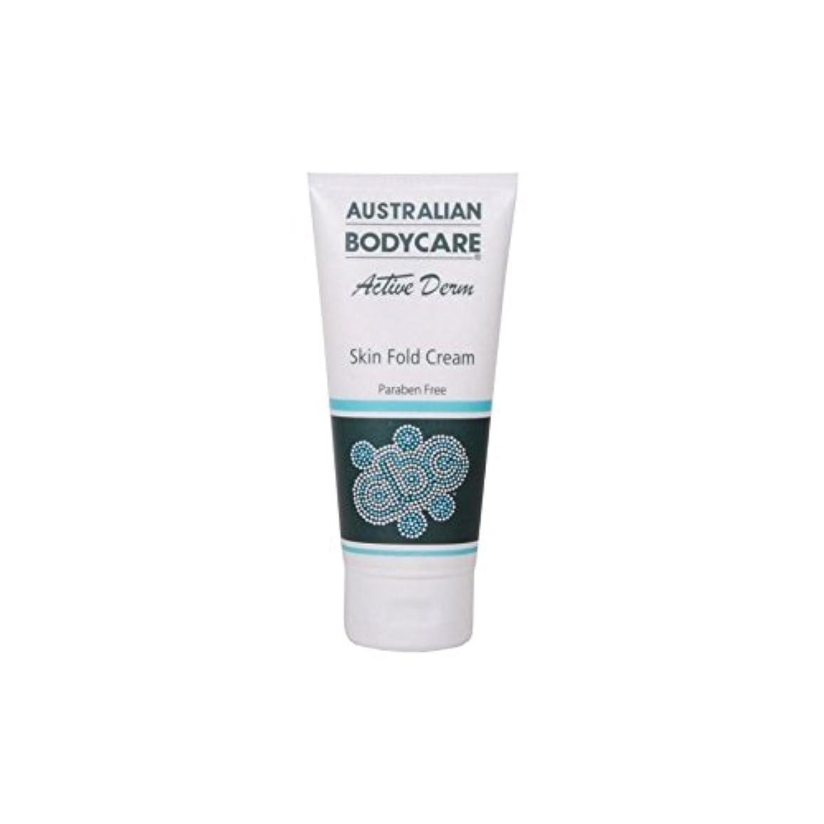 慢性的窓一杯オーストラリアのボディケアアクティブダーム皮膚のひだクリーム(100ミリリットル) x2 - Australian Bodycare Active Derm Skin Fold Cream (100ml) (Pack of...
