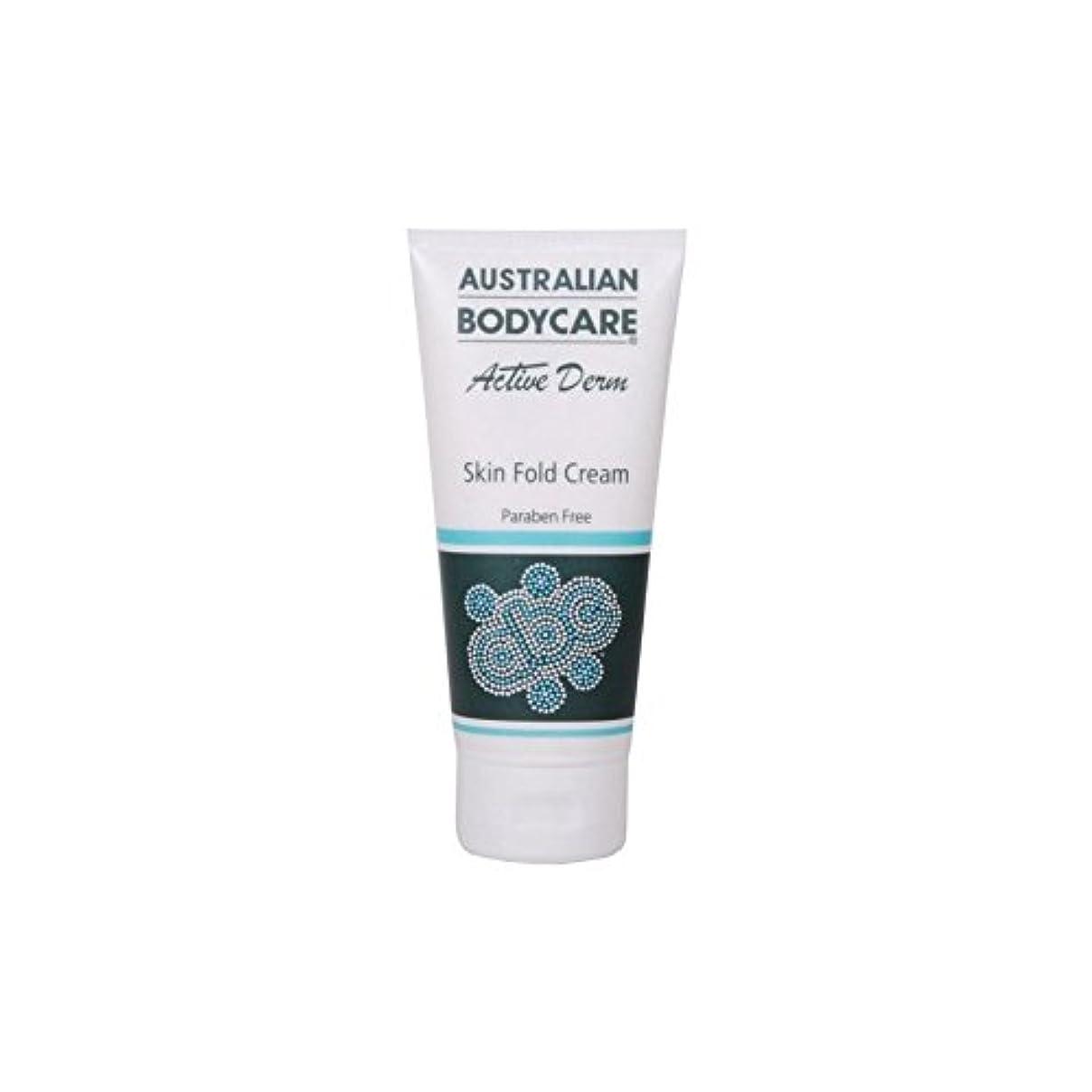 名義でダイアクリティカル転用Australian Bodycare Active Derm Skin Fold Cream (100ml) (Pack of 6) - オーストラリアのボディケアアクティブダーム皮膚のひだクリーム(100ミリリットル...
