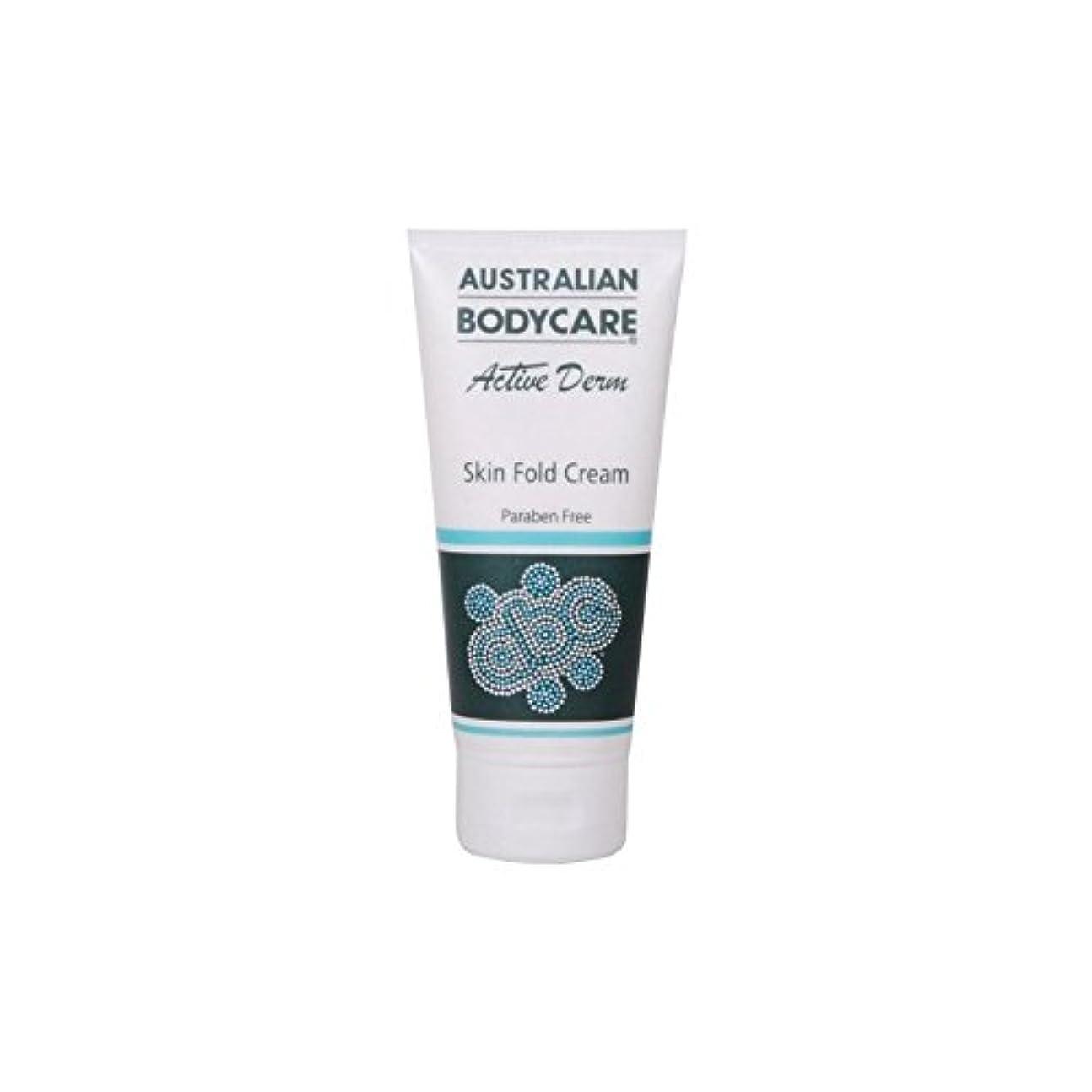 真実ディレイステレオAustralian Bodycare Active Derm Skin Fold Cream (100ml) (Pack of 6) - オーストラリアのボディケアアクティブダーム皮膚のひだクリーム(100ミリリットル...