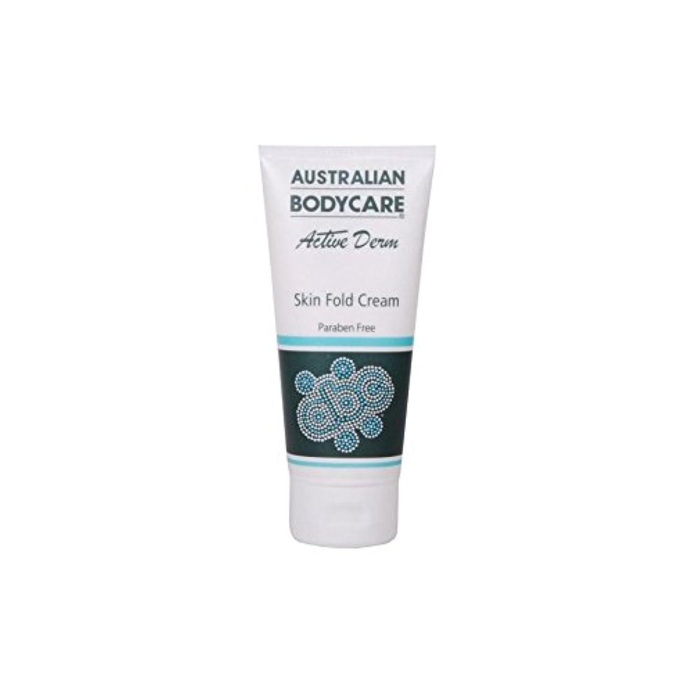 セットアップ粘性の超えるオーストラリアのボディケアアクティブダーム皮膚のひだクリーム(100ミリリットル) x4 - Australian Bodycare Active Derm Skin Fold Cream (100ml) (Pack of...