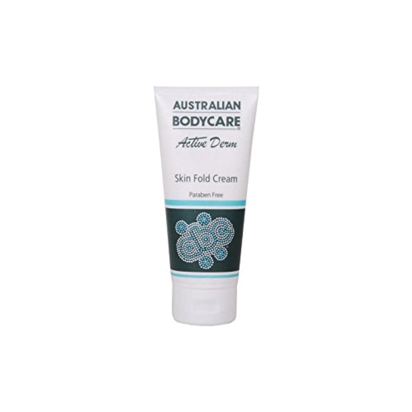 ハンカチ浴室祖父母を訪問Australian Bodycare Active Derm Skin Fold Cream (100ml) (Pack of 6) - オーストラリアのボディケアアクティブダーム皮膚のひだクリーム(100ミリリットル...