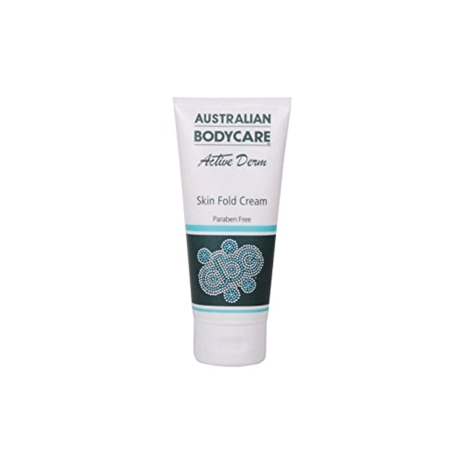 雑草メタルライン破壊するAustralian Bodycare Active Derm Skin Fold Cream (100ml) (Pack of 6) - オーストラリアのボディケアアクティブダーム皮膚のひだクリーム(100ミリリットル...