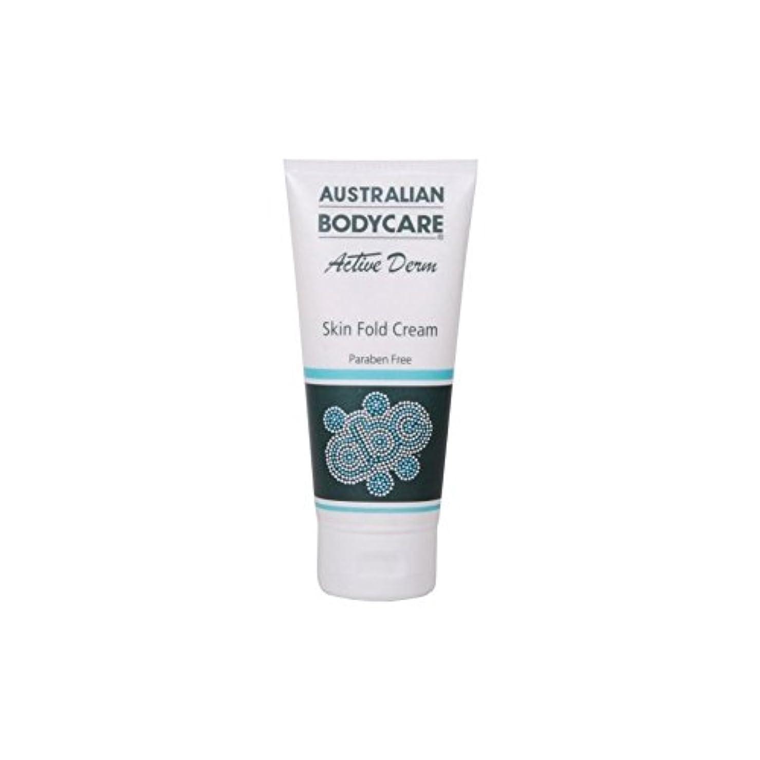 エチケットいいね規制するオーストラリアのボディケアアクティブダーム皮膚のひだクリーム(100ミリリットル) x4 - Australian Bodycare Active Derm Skin Fold Cream (100ml) (Pack of...