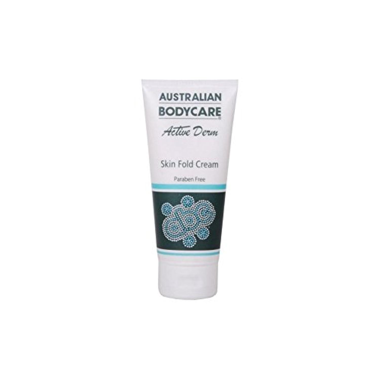 描く逃げるファンAustralian Bodycare Active Derm Skin Fold Cream (100ml) (Pack of 6) - オーストラリアのボディケアアクティブダーム皮膚のひだクリーム(100ミリリットル...