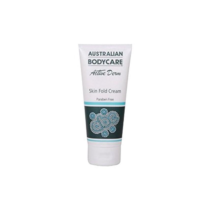 緊張する漏斗列車オーストラリアのボディケアアクティブダーム皮膚のひだクリーム(100ミリリットル) x4 - Australian Bodycare Active Derm Skin Fold Cream (100ml) (Pack of...