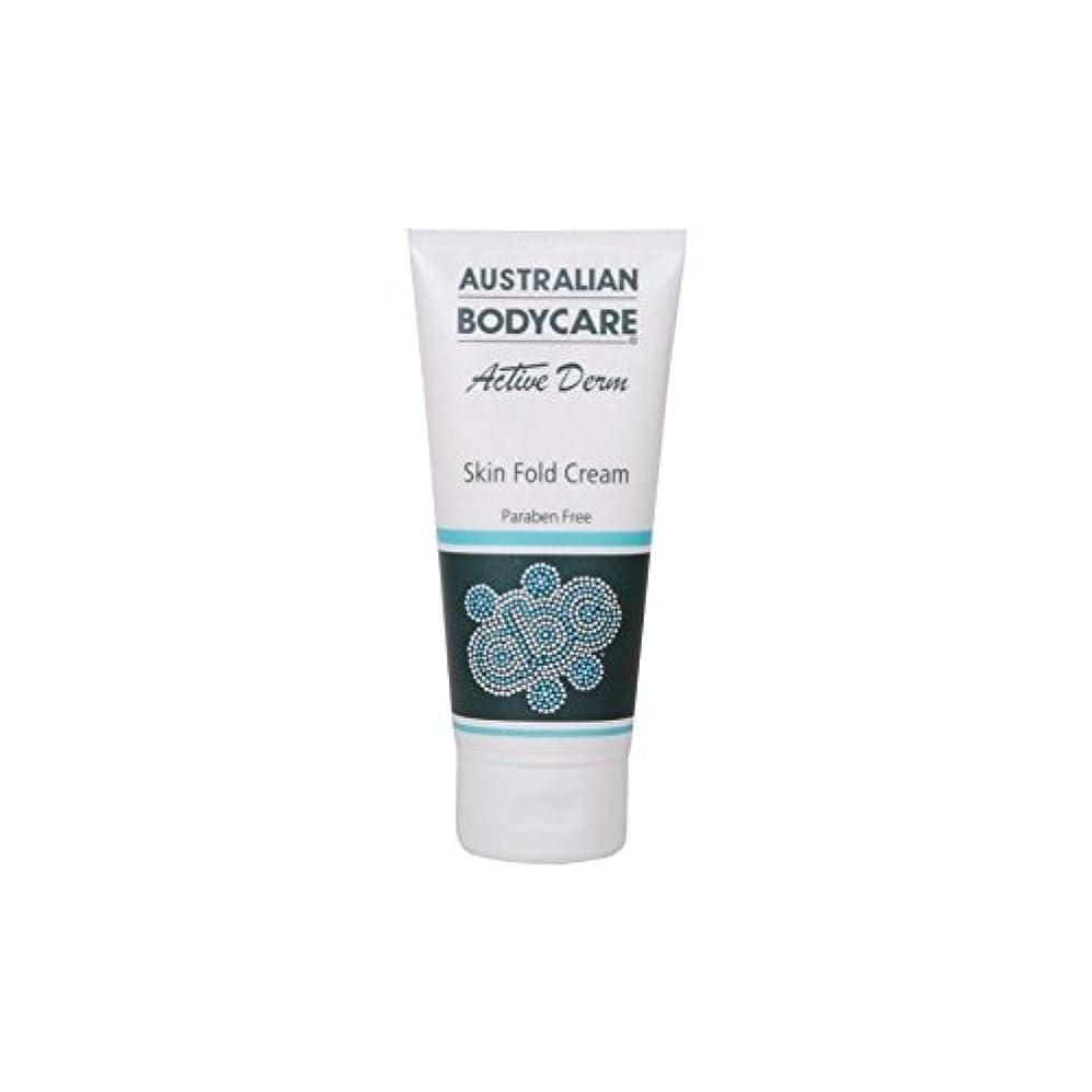 円形思いつく列車Australian Bodycare Active Derm Skin Fold Cream (100ml) - オーストラリアのボディケアアクティブダーム皮膚のひだクリーム(100ミリリットル) [並行輸入品]