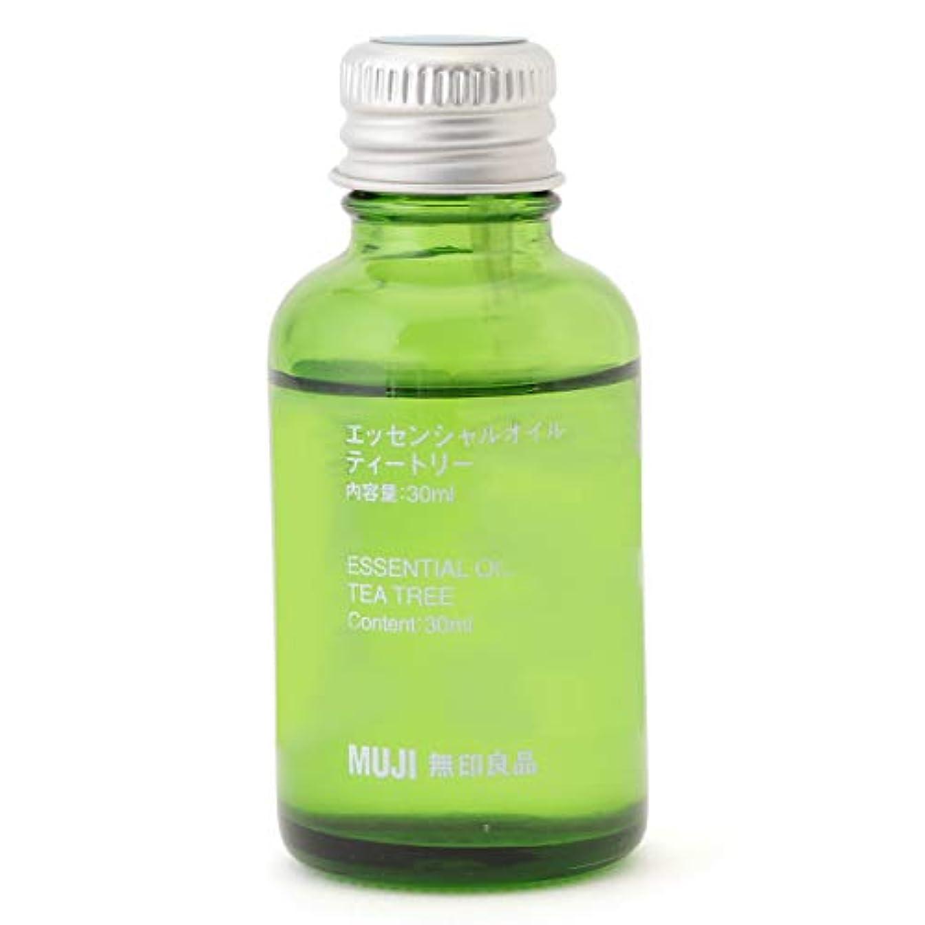 カバー吸収剤バーマド【無印良品】エッセンシャルオイル30ml(ティートリー)