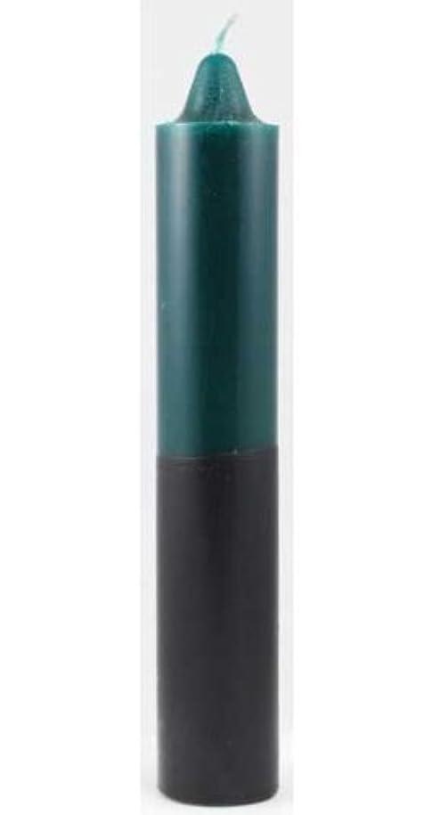 期限切れ警官トリムAzure Green CP1GB 9 in. Green- Black pillar